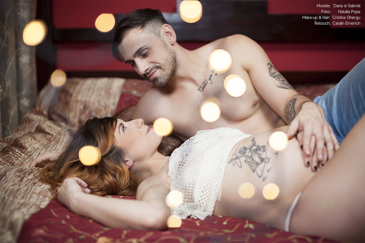 Dana & Gabriel expecting <3 Pregnancy Maternity Check This Out Sexy Model Couple Baby Mommy Love Happiness Tenderness Tattoos Woman Beautiful Gorgeous Christmas Lights Fashion Shooting NataliaPopaPhotography CatalinEmerich Retouch DanaMatei Hello World CristinaGhergu Makeup #hairstyle