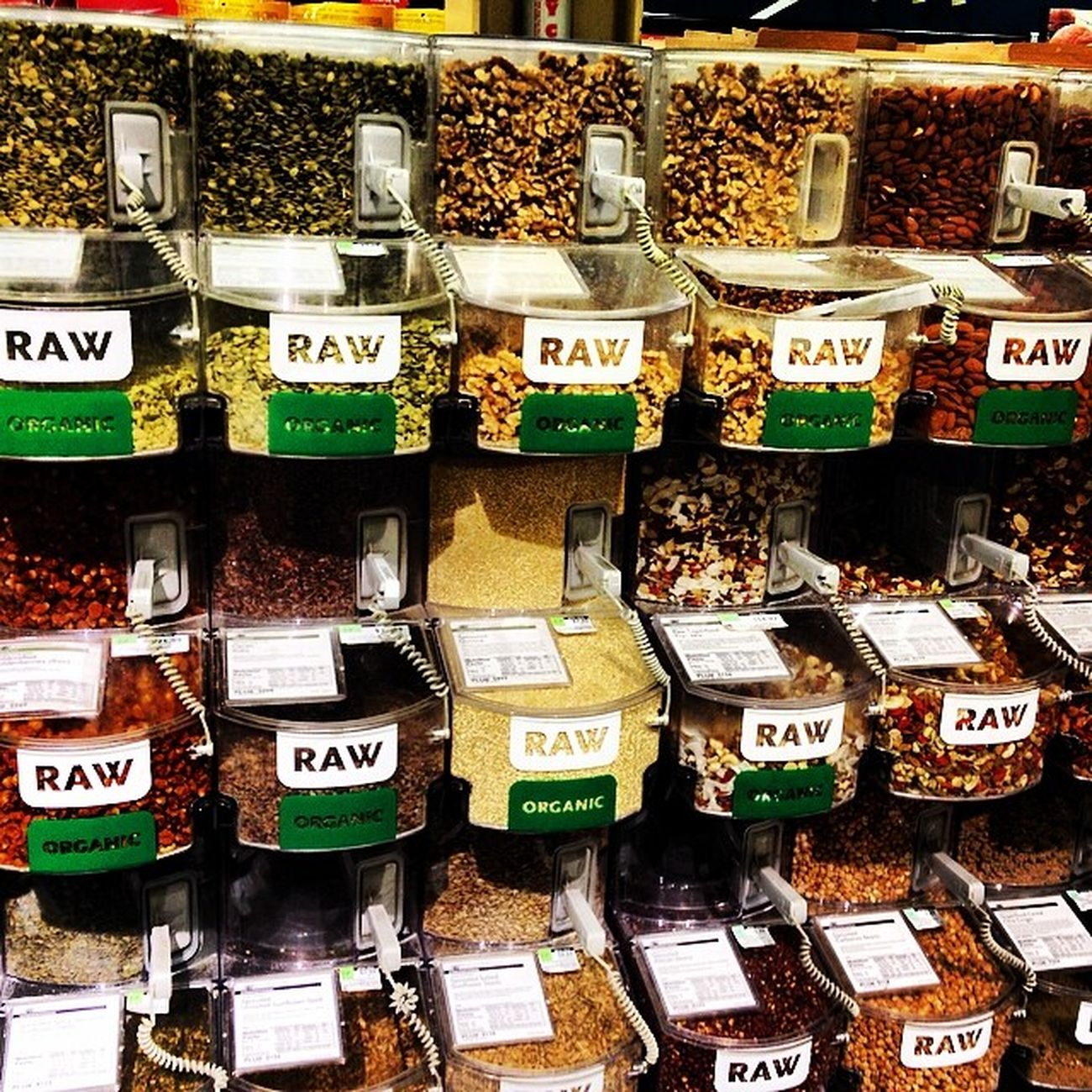 Wholefoods Santanarbara Rawfood Raw nuts & seeds