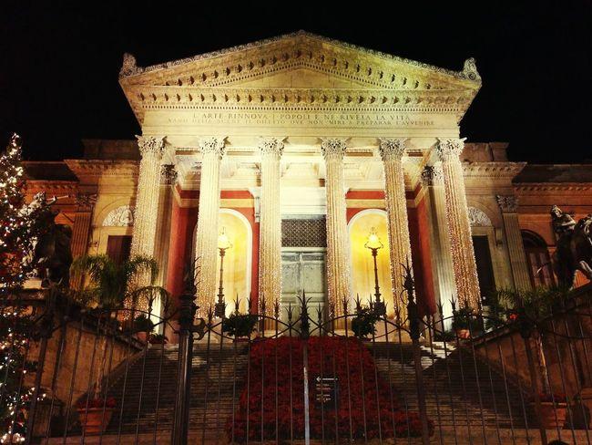 Palermo Teatromassimo Christmas Sicily Sicilia Love