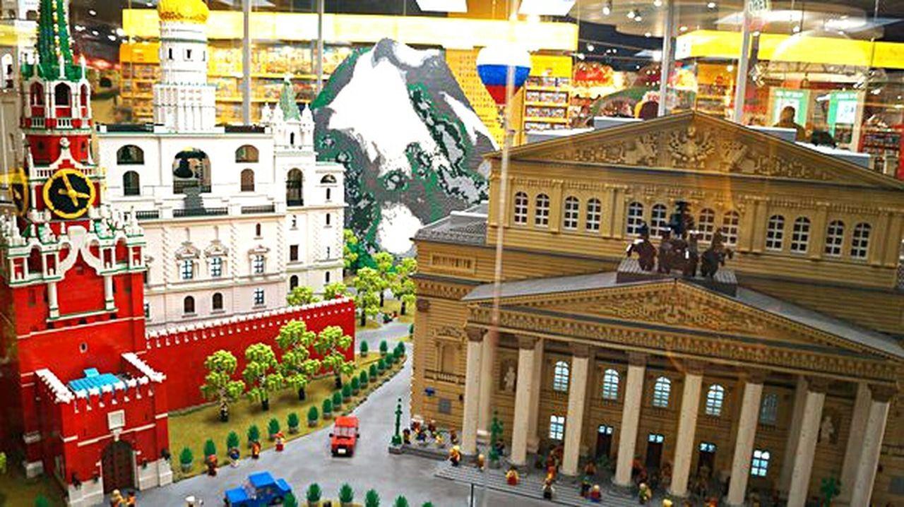 LEGO Bolshoi Theater Bolshoi Theatre Moscow Spasskaya Tower Art Is Everywhere