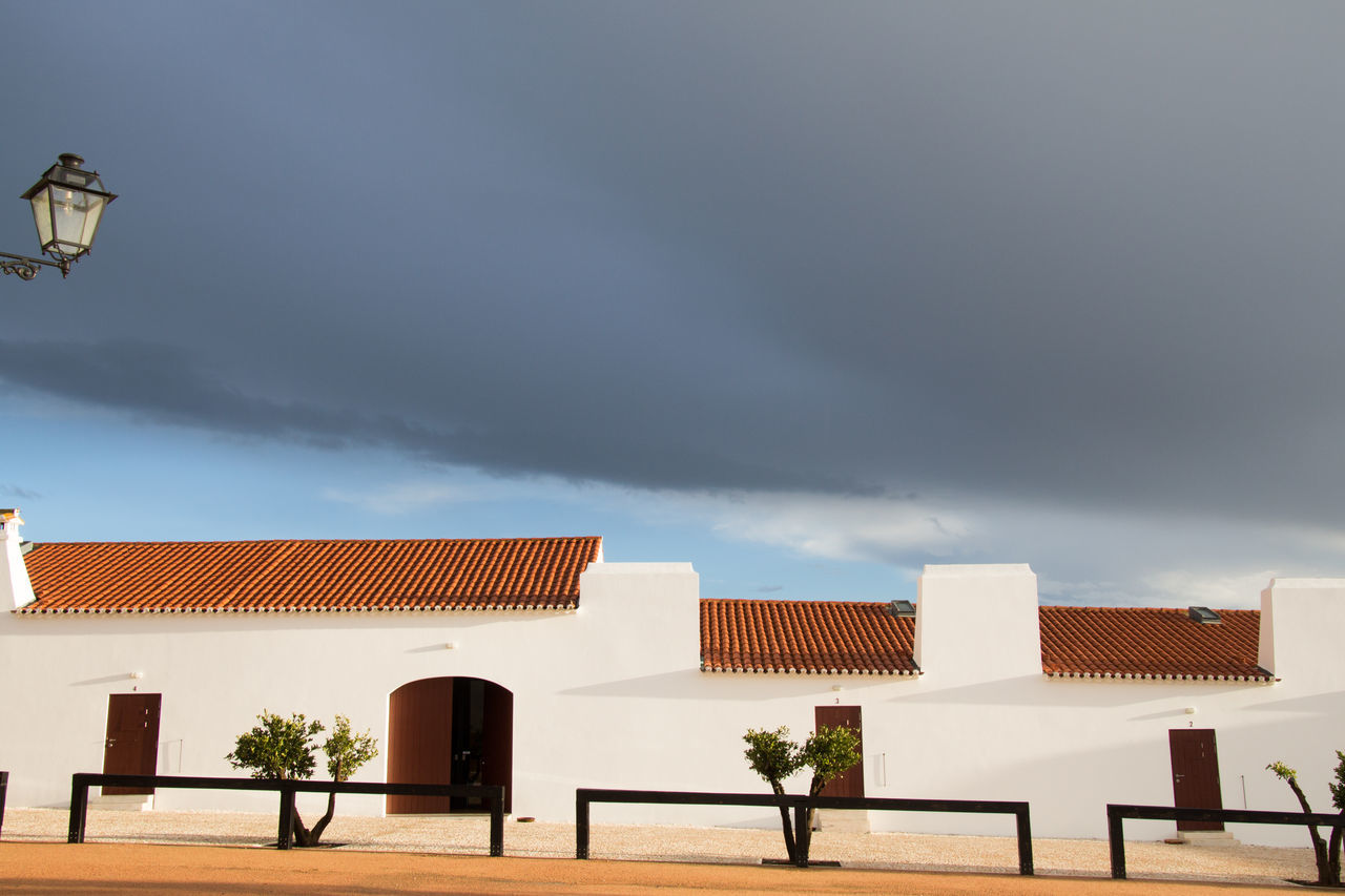 Torre da Palma Wine Hotel. Architecture City Cloud - Sky Dramatic Sky Monforte, Portugal My Year My View Night No People Outdoors Sky