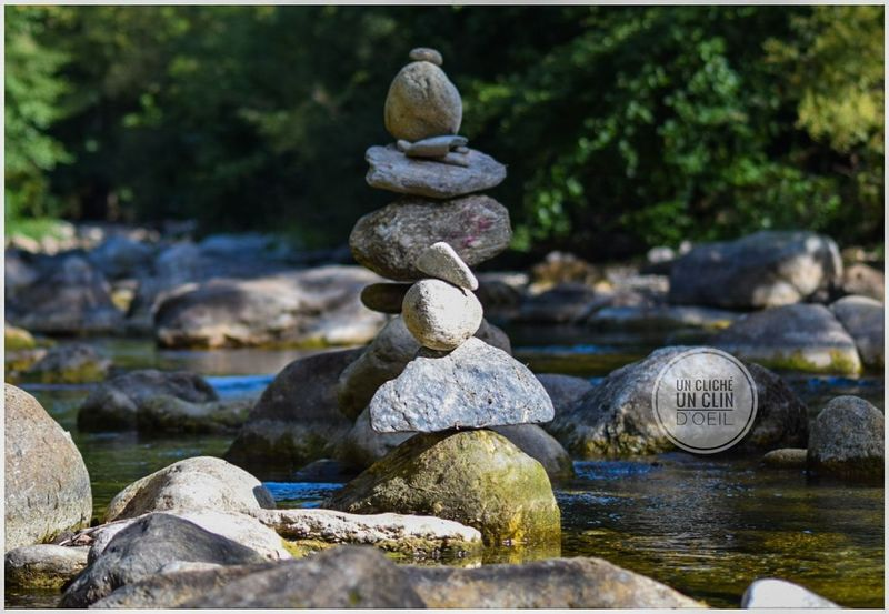 Balance Water Stack Rock - Object Day Pebble Large Group Of Objects No People Tranquility Outdoors Nature Close-up Olargues France🇫🇷 Unclicheunclindoeil Languedoc-Roussillon