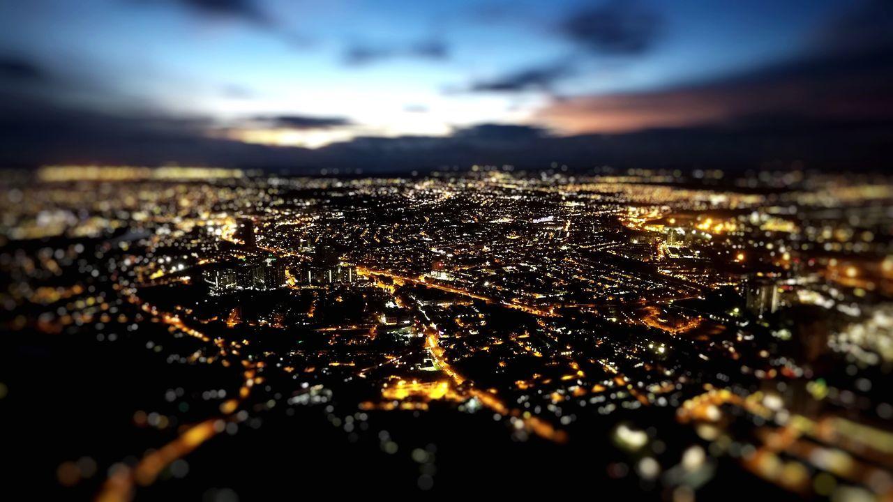 City Sky Illuminated Cityscape No People Night Shah Alam Uitm