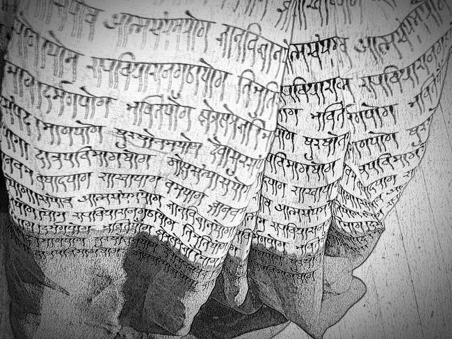 Indian Saree Saree Sanskrit Characters Sanskrit London United Kingdom Samsung Galaxy Note 4 Samsungphotography EyeEm Best Shots - Black + White B&w Photography B&w B&W Obsession Taking Photos EyeEm Bnw Bnw_friday_eyeemchallenge Bnw_collection Art ArtInMyLife
