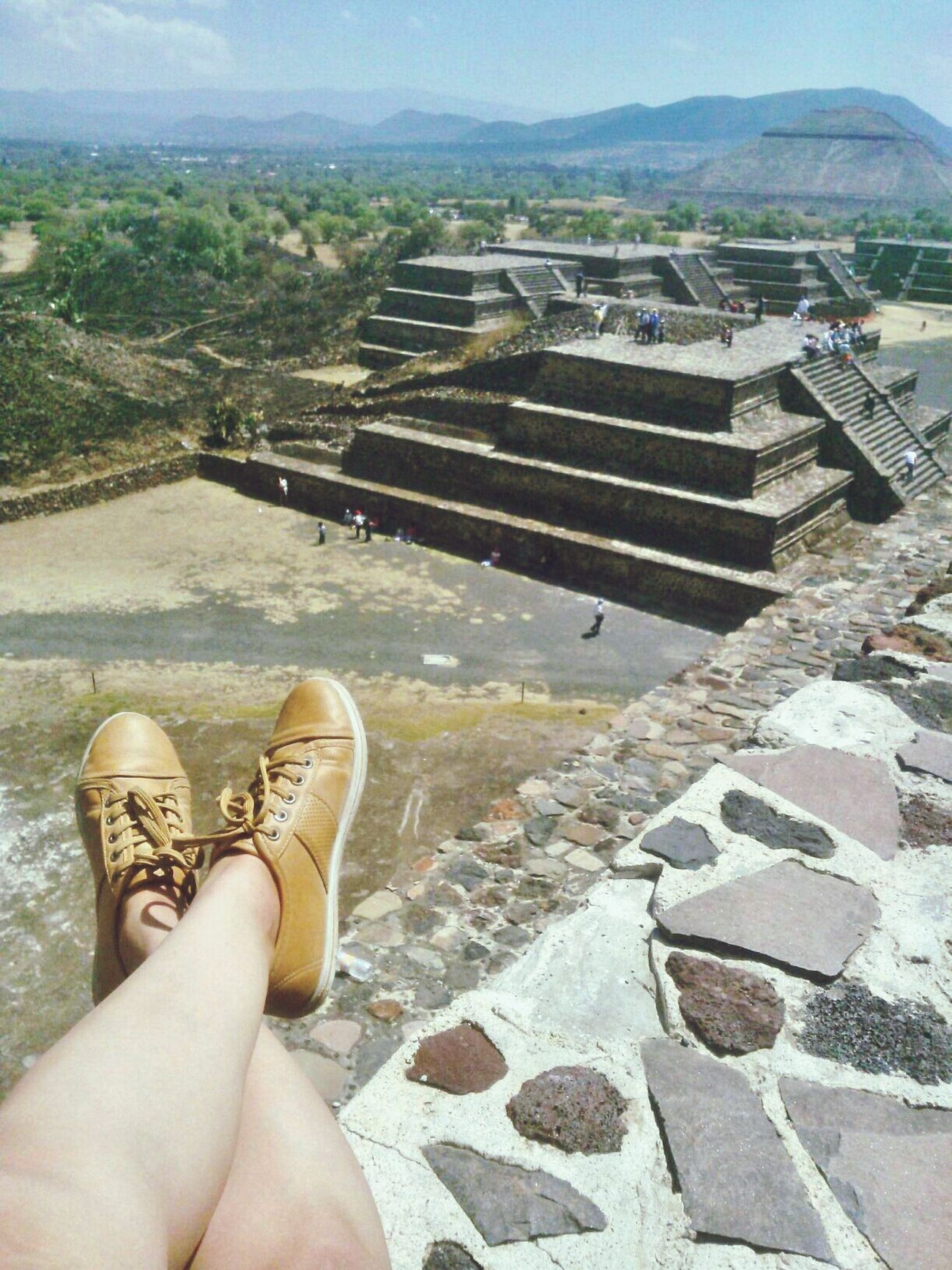 A Sunday smile. ✌ Teotihuacan.