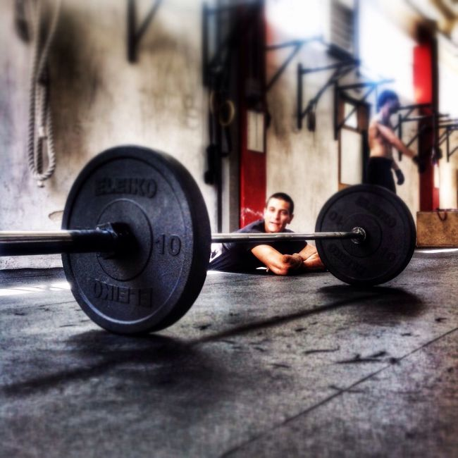 Working Hard A Day At The Box Crossfit