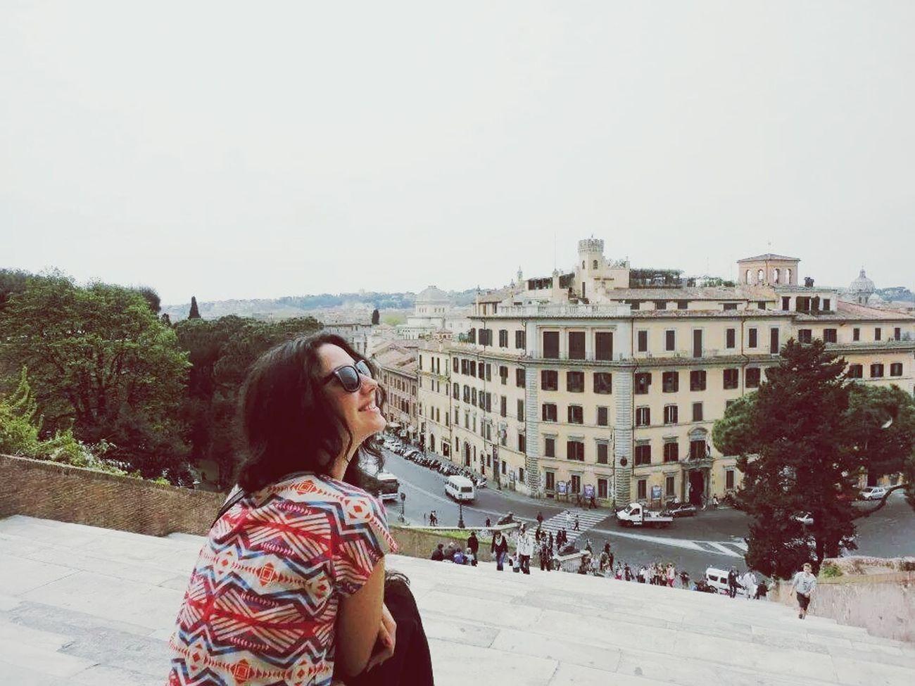 Roma querida Traveling Rome Rome Italy Italia Romantic Trip Rayban Viajar