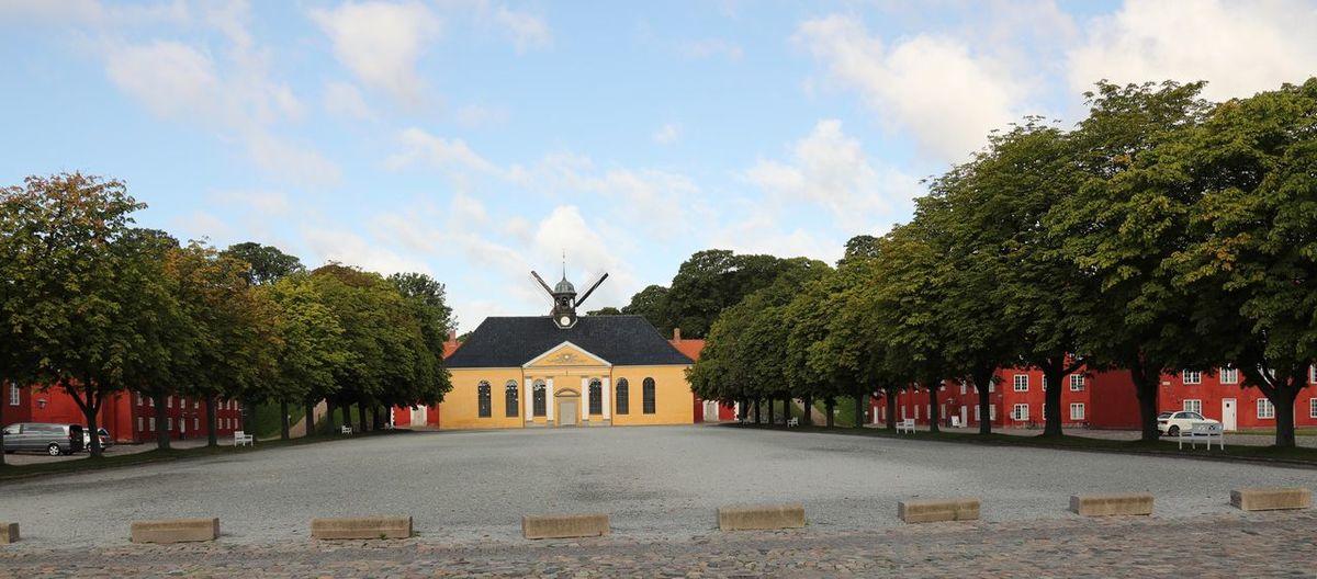 Tree Architecture Built Structure Sky Building Exterior Outdoors Day No People Kastellet Copenhagen, Denmark