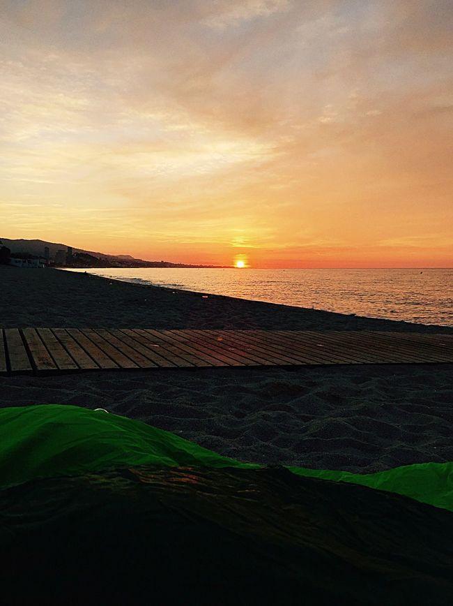 First night in Barcelona , Camping Beach Good Morninggood morMorning SkygSunrisenrise Roadtrip Sea España