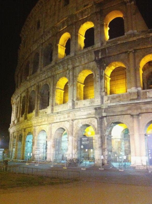 Colosseo Roma Italy Architecture Roma❤️ Romebynight Colosseum Hystory Love Nightphotography