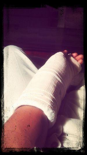 Hand Broke Itd Hurts