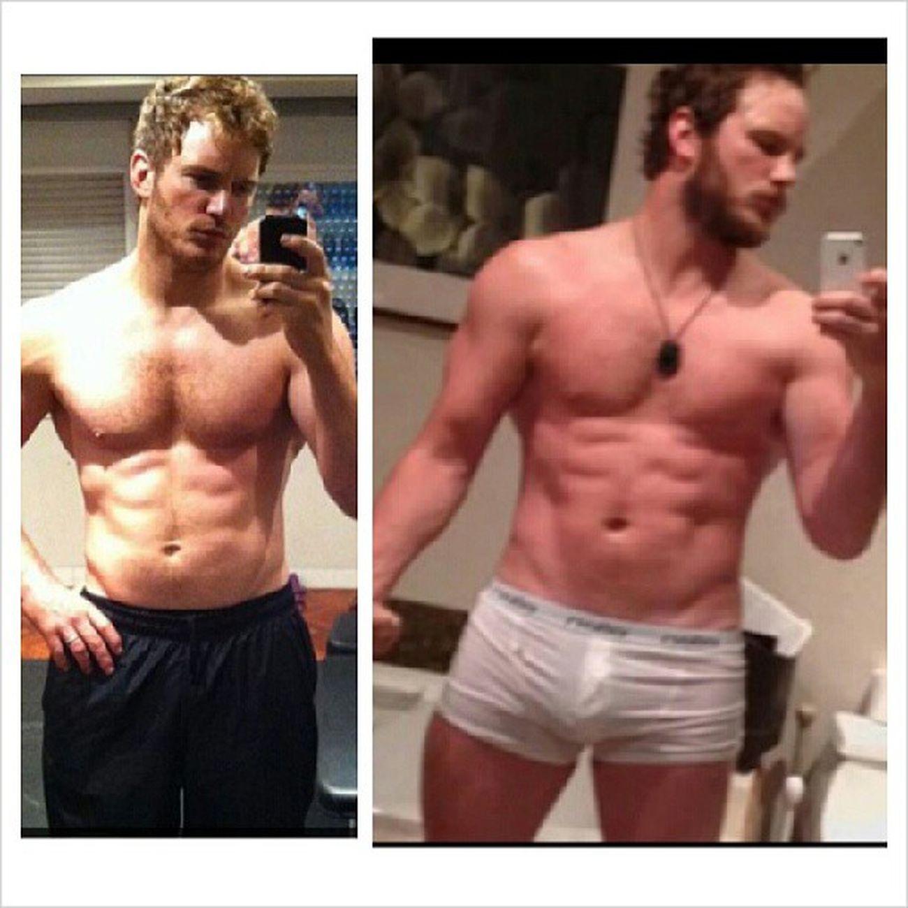 Let's take a moment to bask in the glory of Chris Pratt's Guardians of the Galaxy/Zero Dark Thirty body. Goddammit Chrispratt