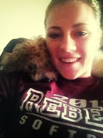 Me and my pup ❤