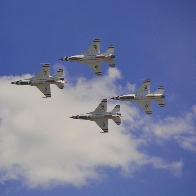 USAF Thunderbirds Wow15 Wingsoverwayne @afthunderbirds
