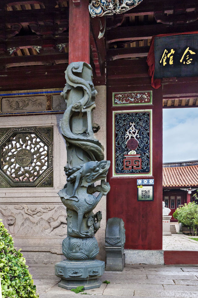 Temple architecture and art Architectural Structure Carved Doors And Windows Carved Dragon Pillars China Post Xiamen Architectural Art Architectural Art Art Buddha Carving Carving - Craft Product Creativity Engraving Exquisite Famous Tourist Attractions Famous Tourist Destination No People Ornate Religion Spirituality Temple Temple - Building The Nan-PuTuo Temple Travel Destinations