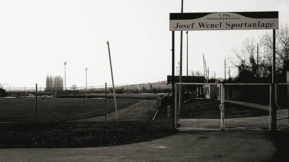 The Places I've Been Today Soccer Football Sport Sportplatz Walking With My Dog Black And White Going The Distance