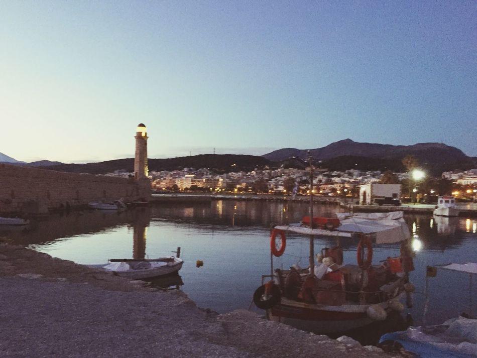 6 a.m Rethymno Old Port