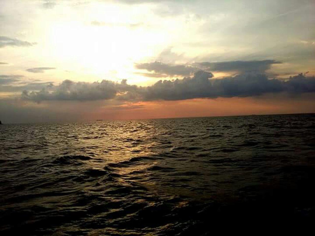 Tufkiye İstanbul Marmara sea Sunset Summer Views Samsungphones S Mini Sea