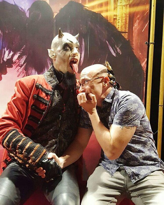 Valencia, Spain Circo De Los Horrores Cabaret Maldito Two People Artes Escenicas Halloween