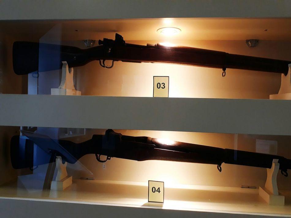 Springfield M1903 e Garand M1 by Marcele Civil War Rifle EUA