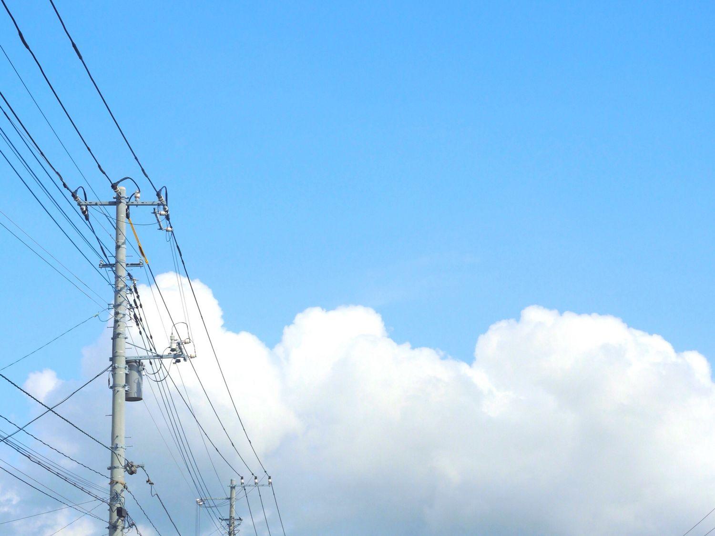 あの辺りは夏だろか Nikon P7700 Clouds And Sky