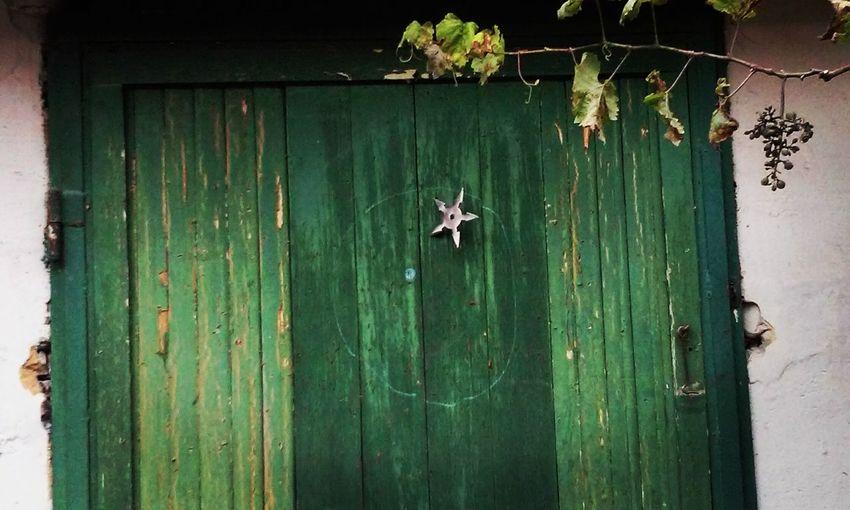 suriken Door Game Nature Ninjastyle Outdoors Suriken Wood - Material