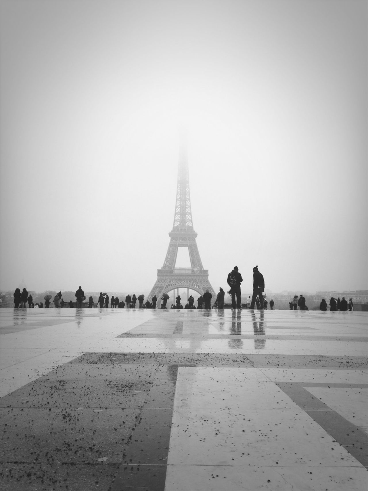 Beautiful stock photos of eiffel tower, Architecture, Built Structure, Cold Temperature, Day