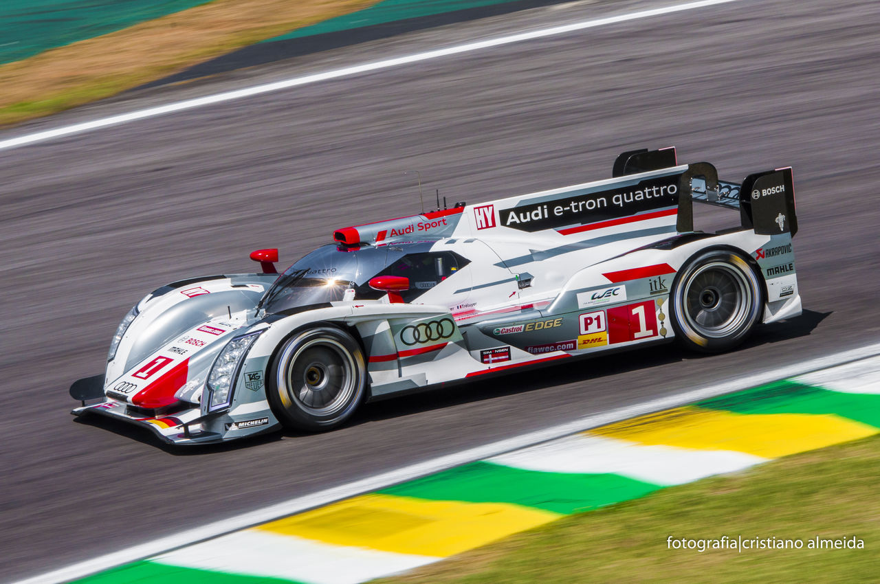 #1 6hsp Audi Autodromo De Interlagos Automobilismo Blurred Motion Brazil Car Colorful Colors Control Corrida E-Tron Esporte High Angle View Hybrid Interlagos  Land Vehicle Lemans Paixão Panning Racecar S Do Senna Speed