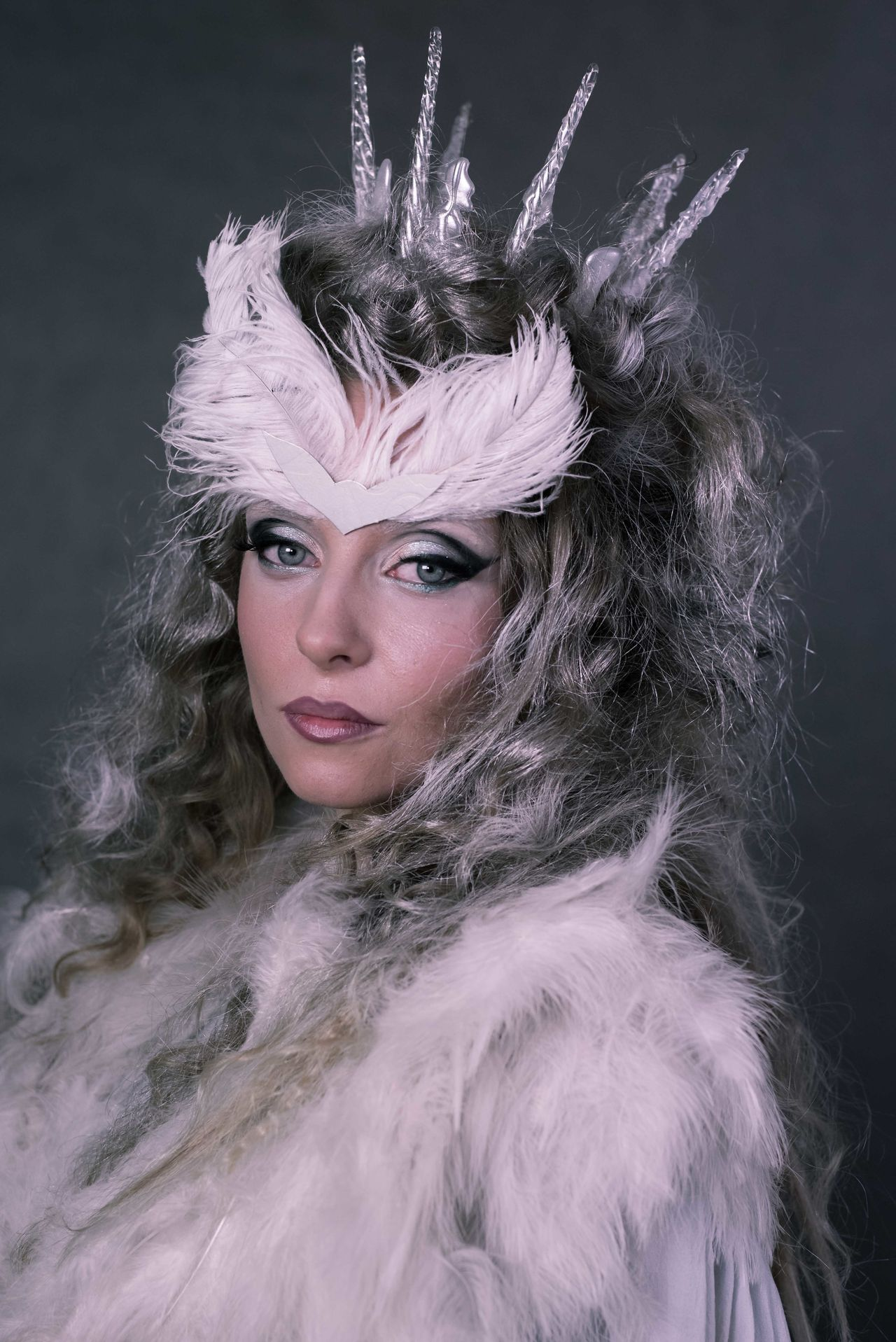 Snowqueen Makeup Makeupartist Makeup Artist Beautiful Woman Adults Only Portrait Beautiful People Studio Shot Adult