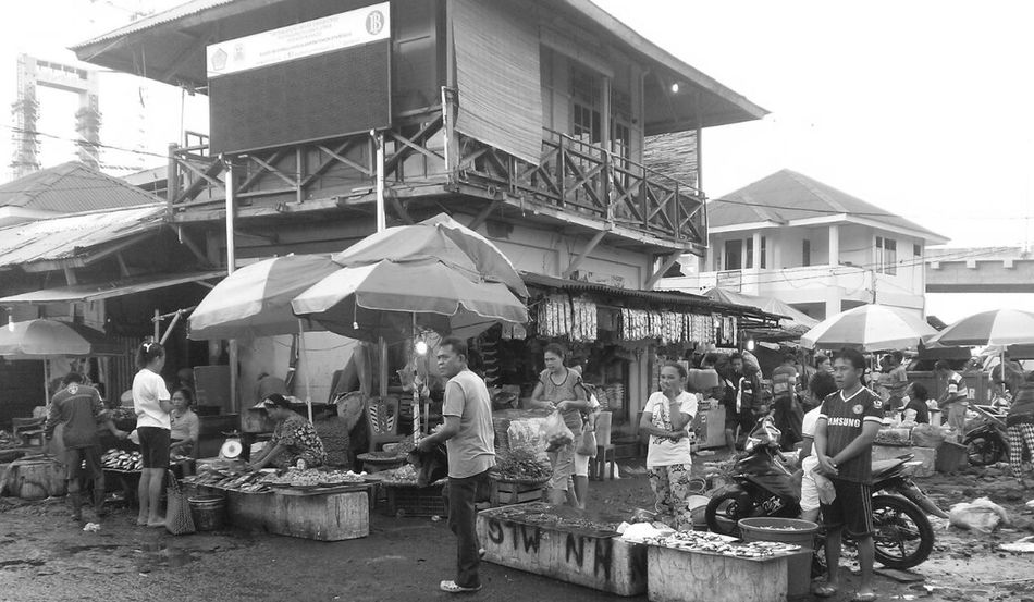 Morning has broken... Street Photography Black & White Traditional Market