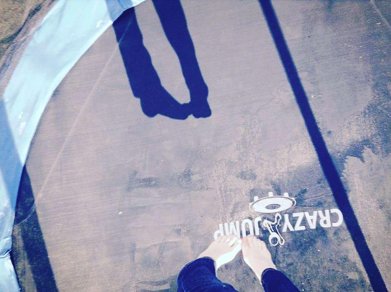 Movement Jump Summer Legs Fly Blue Light Shadow