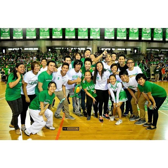 Uaap77 Animorally Animo DLSU greenarchers sports sendoff themanansala