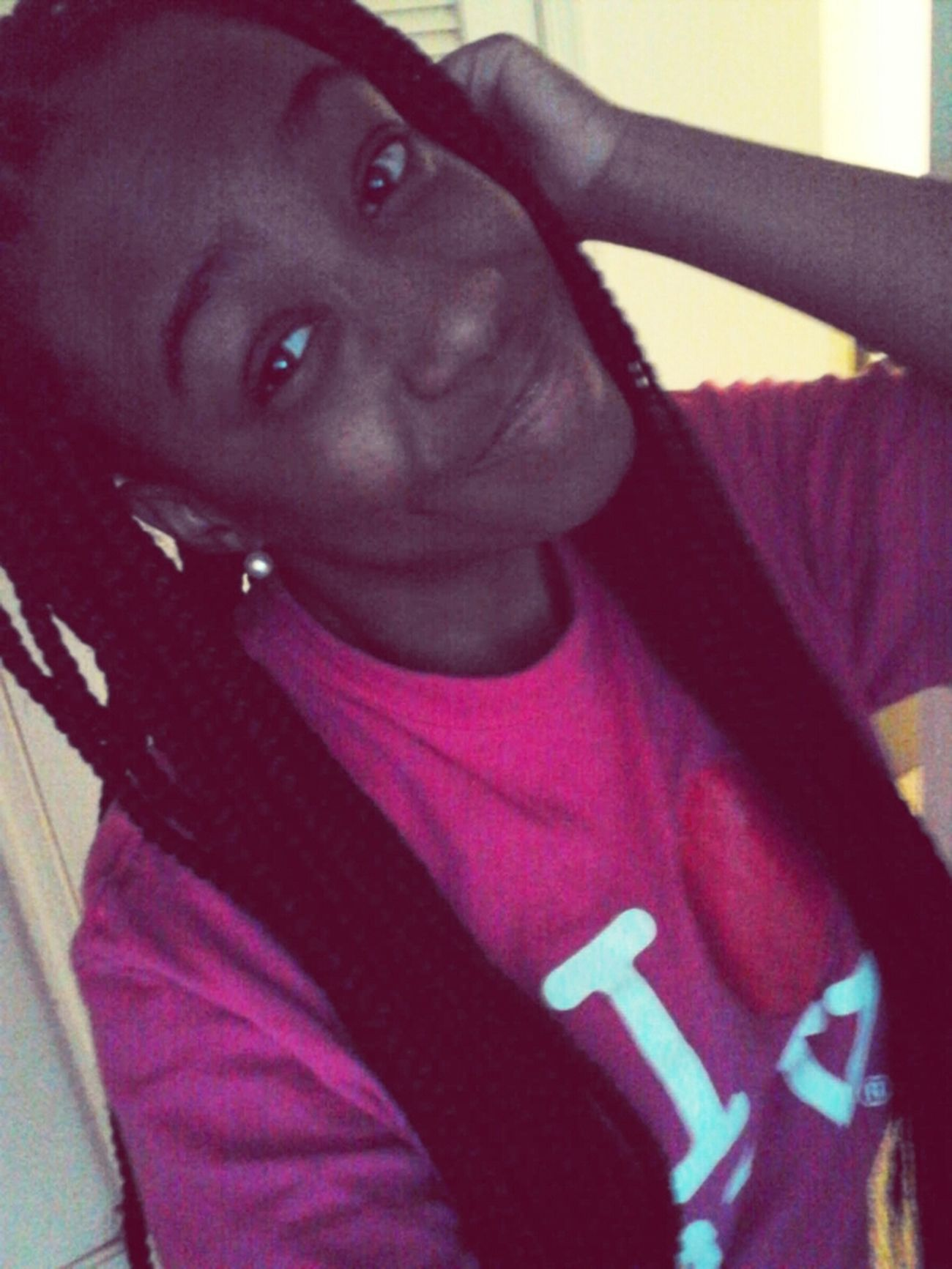 - ewww , i have to wear these braids until prommm -.- . llsss