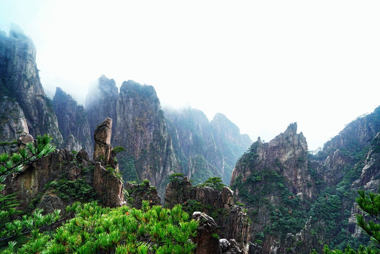 Beautiful stock photos of china, Beauty In Nature, Cliff, Cloud - Sky, Copy Space