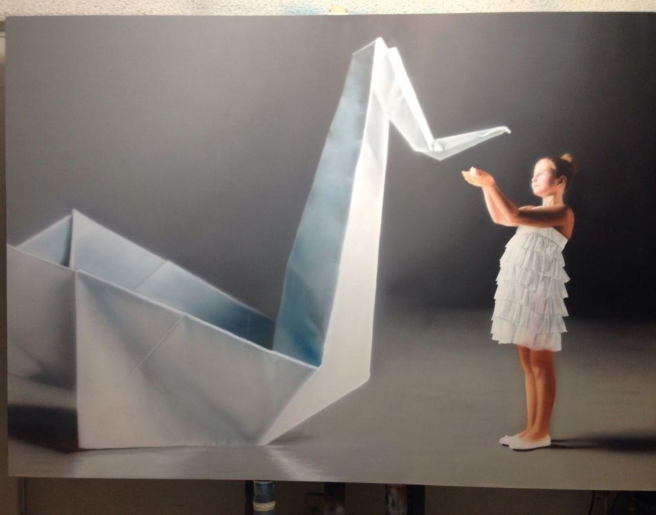 en proceso Art Painting Pintura Luigifantini