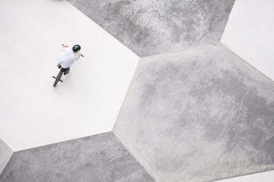 Beautiful stock photos of luxemburg, BMX Cycling, Danger, Day, Directly Above