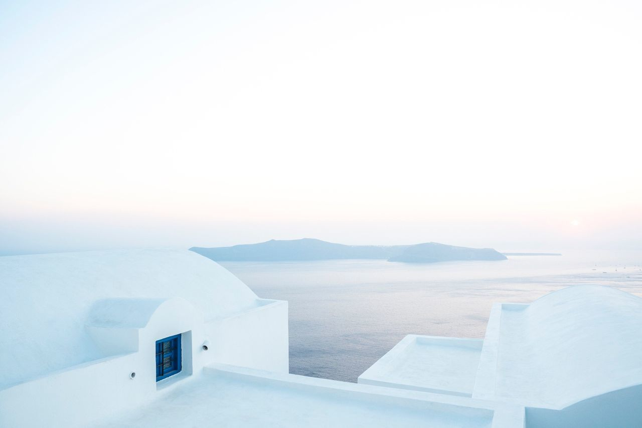 Color Palette Eyeemphoto Greece Santorini Travel Landscape Minimal Minimalism Minimalist Water Europe Summer Olympus Olympus Inspired Minimalist Architecture The City Light