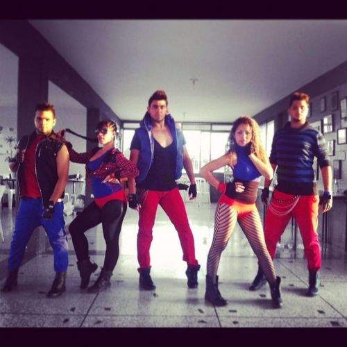 OBY Crew Venezuela #listos #show #dance #style #work #red #blue #oby #cagua #coquetos