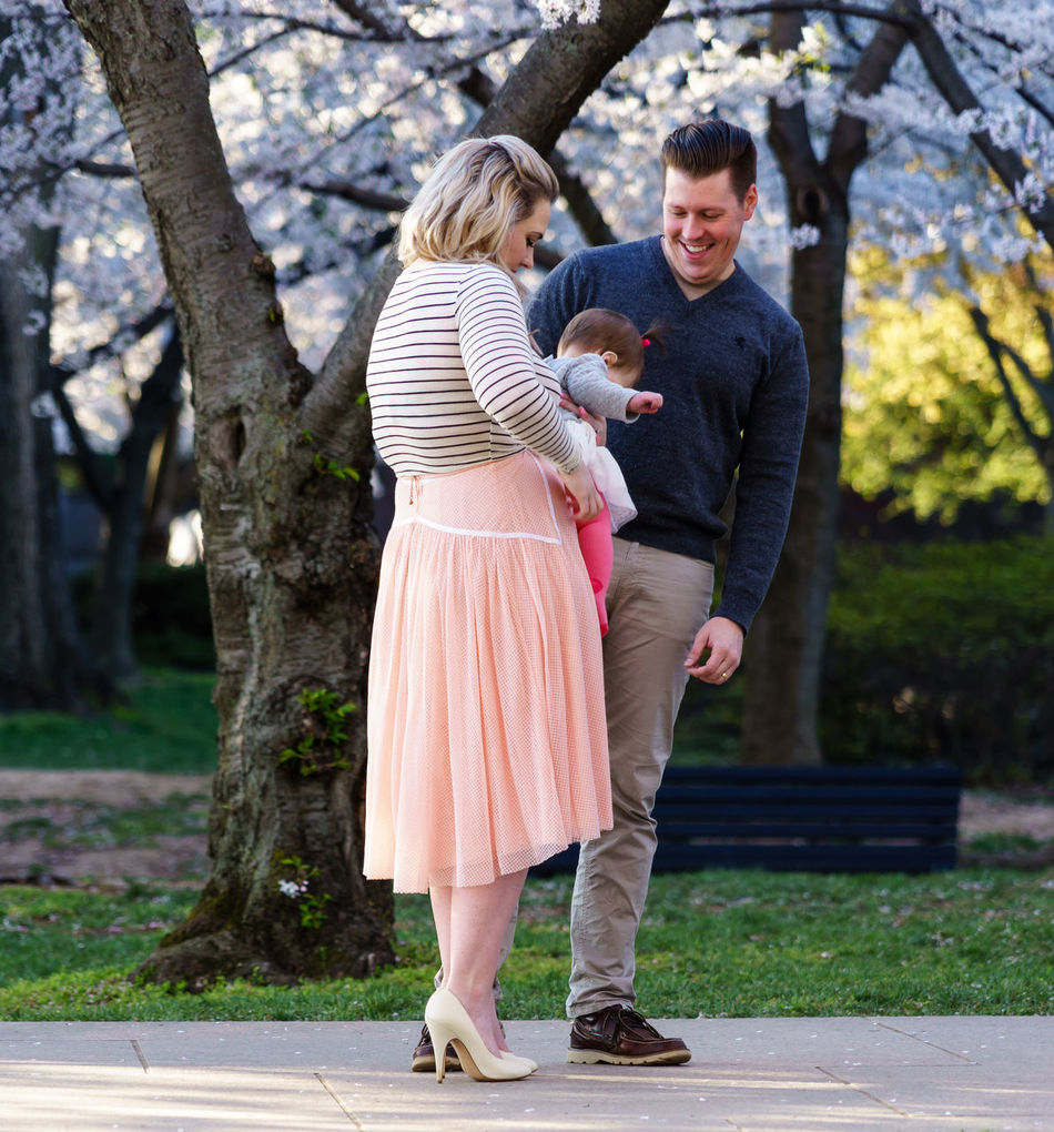 Beautiful stock photos of ostern, full length, two people, togetherness, father
