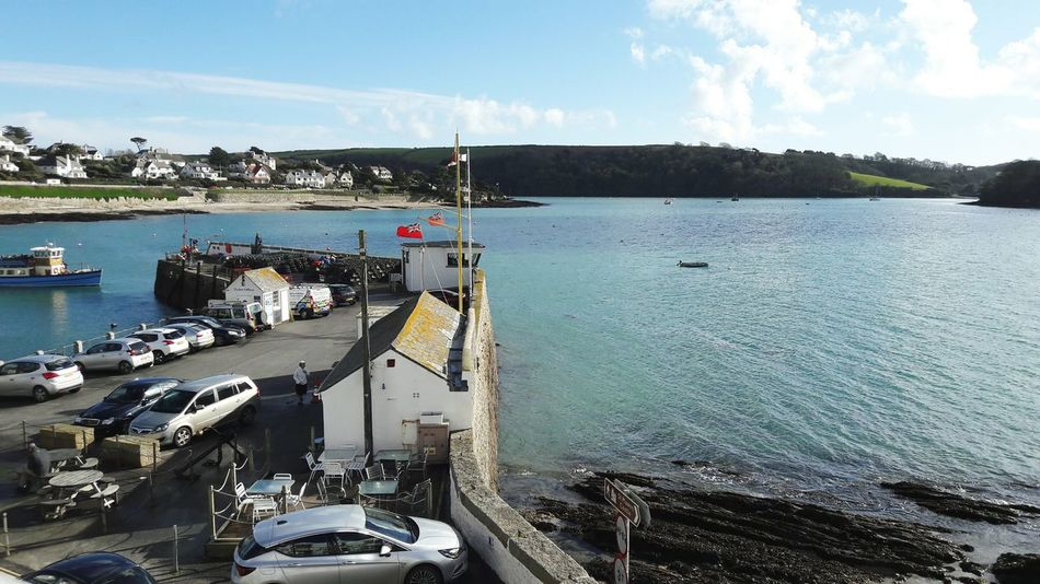 Sunny St Mawes Nautical Vessel Transportation St Mawes Harbour England 🇬🇧 Sunny Day 🌞