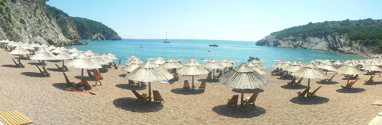 Sea Sunlight Beach Sky Water Blue Montenegro🌊💙👈 EyeEmNewHere