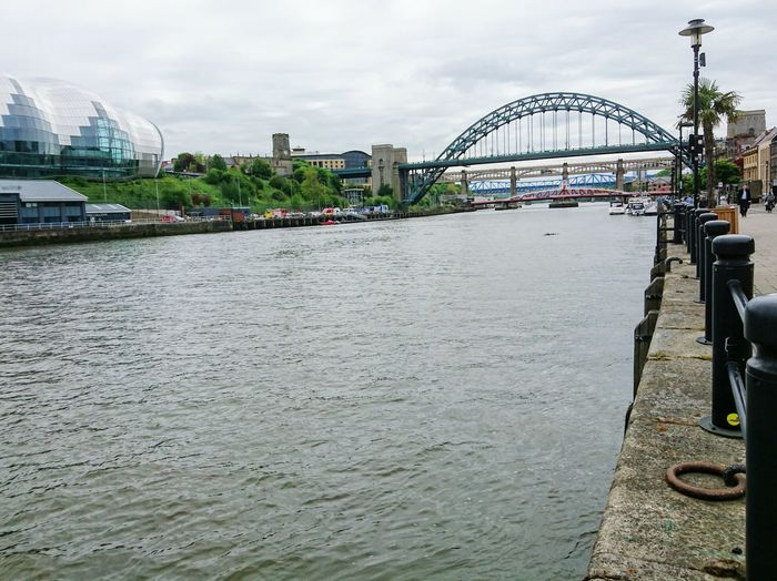 Waterscape Riverscape River Riverbank Riverside River View Bridge Engineering Steelwork Walking Around Check This Out Taking Photos Hello World Newcastle, UK.