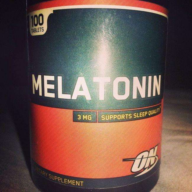 Chegou Melatonina Quimic Metabolismo Molecular Nutricao soulfitness