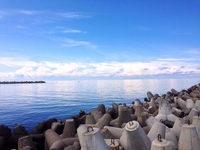 Sea And Sky Seaside Kaliningrad Baltiysk 2015  The Great Outdoors - 2016 EyeEm Awards