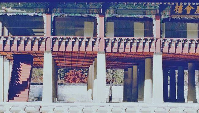 Gyeonghoeru Pavilion On Lake King's Formal National Banquet Gyeongbokgung Palace, Seoul