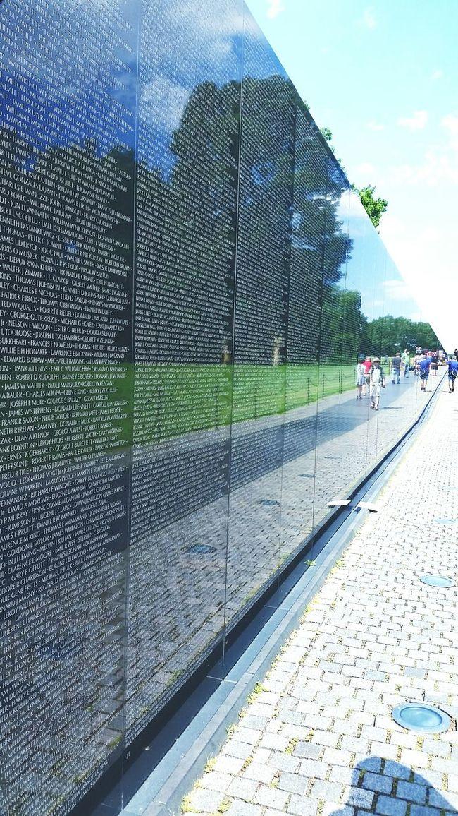 Historical Monuments Washington, D. C. Monument Cool Vietnam War Memorial Vietnam War