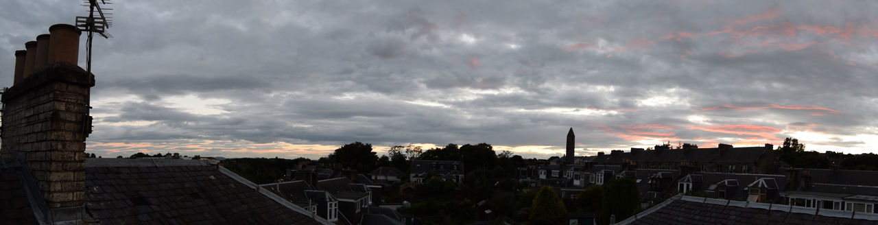 Panoramic Sky City Cityscape Cloud Cloud - Sky Cloudy Dunfermline Fife  Red Sky Scotland Sky Weather