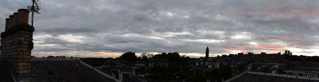 Panoramic Sky City Cityscape Cloud Cloud - Sky Cloudy Dunfermline Fife  Red Sky Scotland Sky Weather