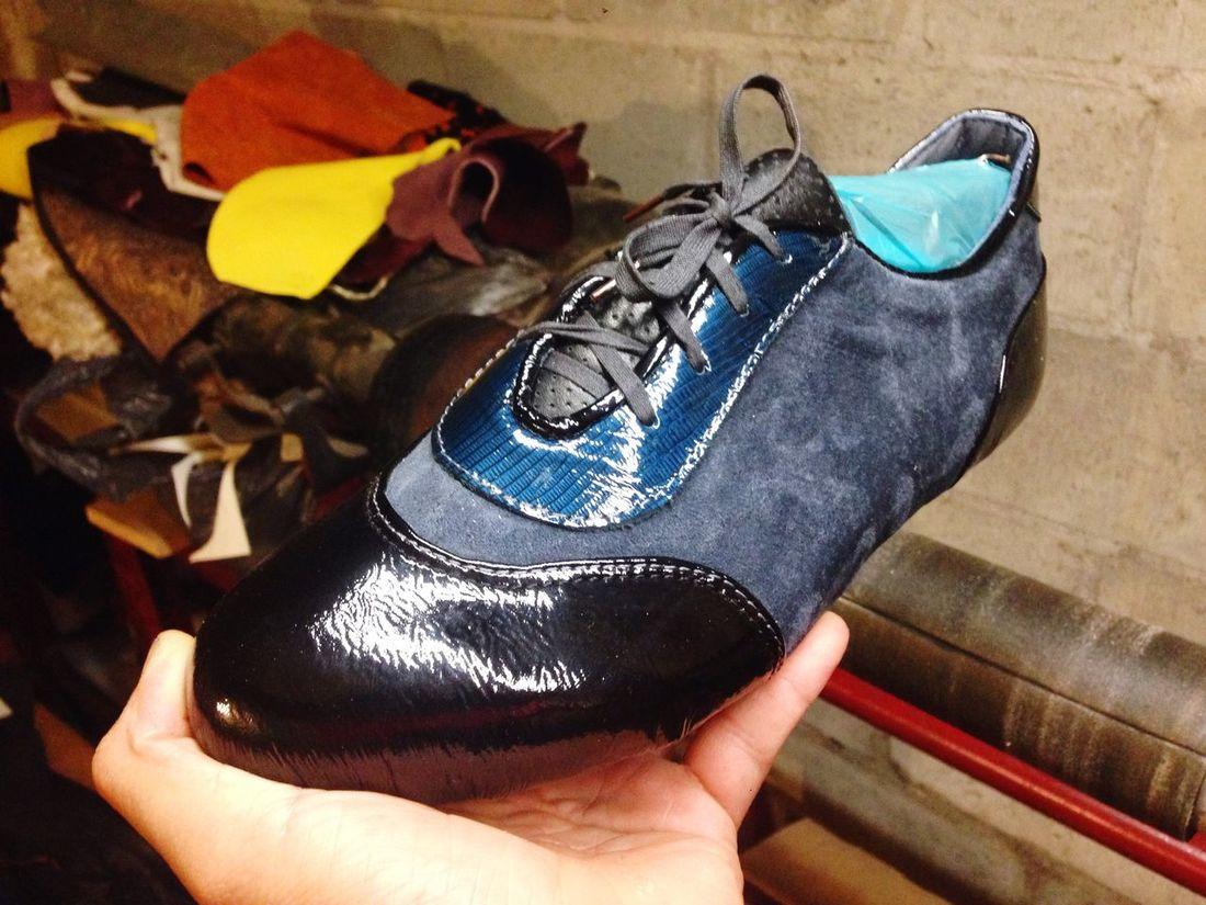 Handmade Blue Custommade Tijuana Zapatosalamedida Shoes ♥ ZUMISURA Shoemaker Sneakers
