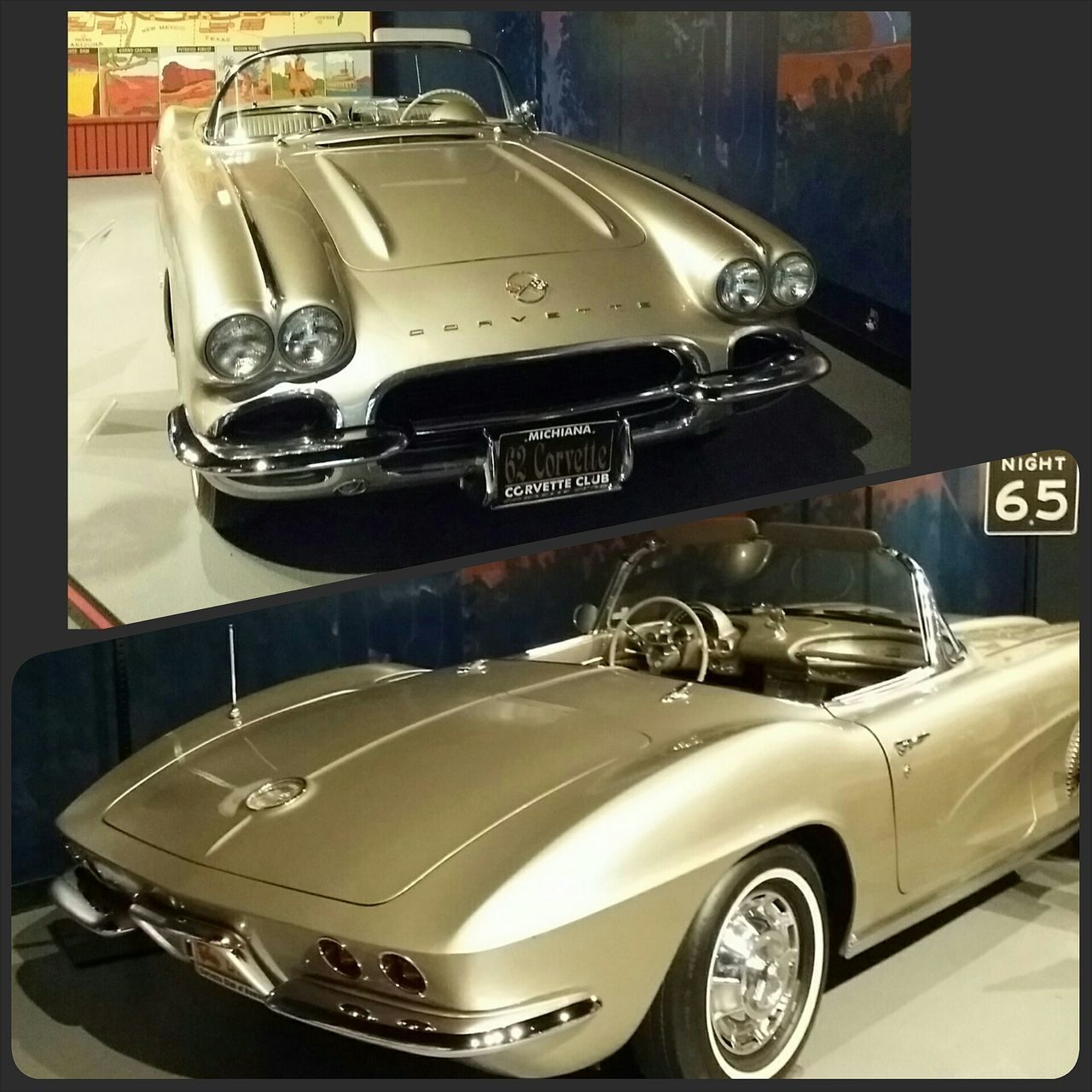 Big week ahead at the Corvette Museum 20th anniversary & NCM track launch! This incredible '62 'vette (aka one of my dream restoration projects) was too gorgeous not to share! Classic Car AmericanMuscleCar Beautifulcar
